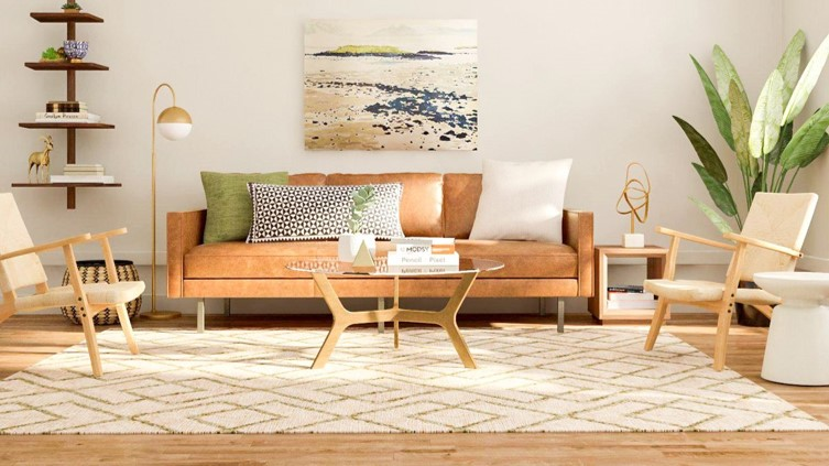 Dapper Digs Home Staging Mid Century Design in Delaware County