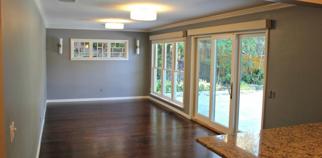 Dapper Digs Home Staging Before Patio Room