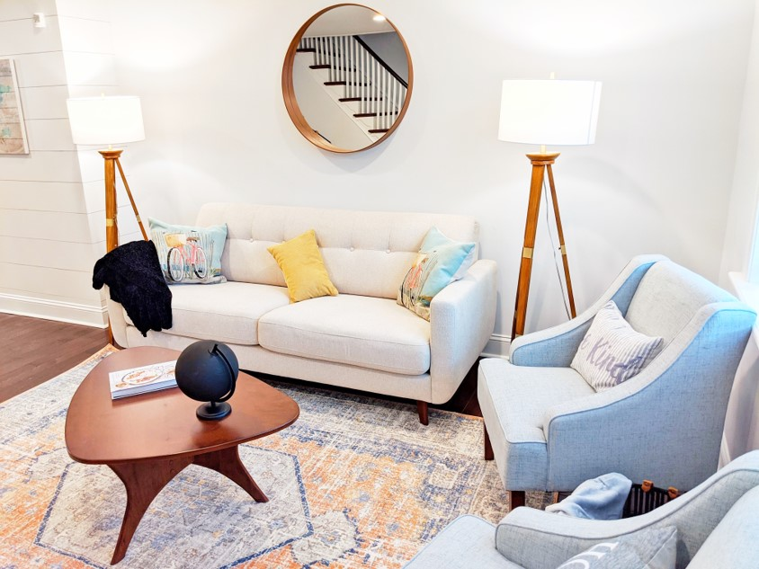 Dapper Digs Home Staging in Downtown Philadelphia